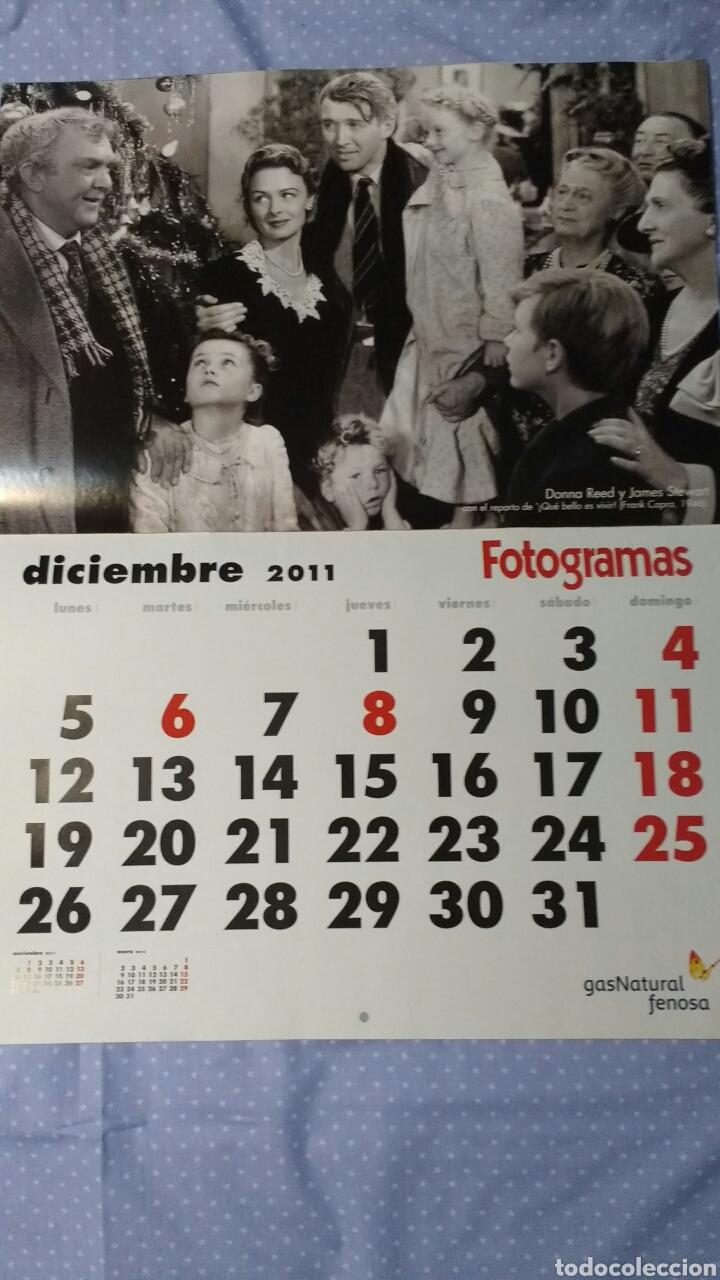 Cine: Precioso calendario FOTOGRAMAS. Año 2011 - Foto 14 - 87685372