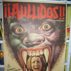 Cine: AULLIDOS (THE HOWLING) JOE DANTE DEE WALLACE POSTER ORIGINAL 70X100 MAC. Lote 87685896