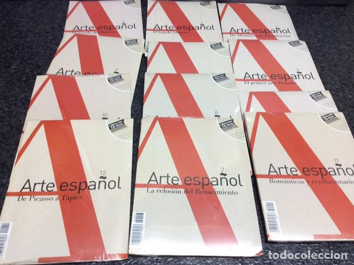 ARTE ESPAÑOL , LOTE DE 12 LIBRO CON CD - ROM ( 1 AL 12 ) (Cine - Posters y Carteles - Documentales)