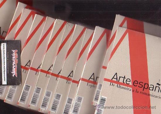 Cine: ARTE ESPAÑOL , LOTE DE 12 LIBRO CON CD - ROM ( 1 AL 12 ) - Foto 2 - 32923460