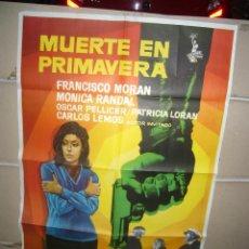 Cine: MUERTE EN PRIMAVERA MONICA RANDAL FRANCISCO MORAN POSTER ORIGINAL 70X100 YY(1582). Lote 88132008
