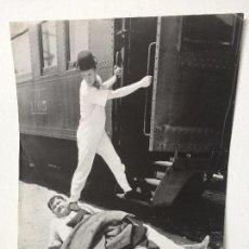 Cine: PÓSTER-FOTOGRAFÍA DE LA PELÍCULA BERTH MARKS (1929) METRO-GOLDWYN-MAYER. Lote 89100376