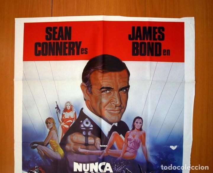 Cine: Nunca digas nunca jamas - Cartel tamaño 100x70 - Sean Connery - Foto 2 - 89189248