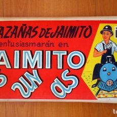 Cine: JAIMITO ES UN AS - CARTEL TAMAÑO 34X70 - EXCLUSIVAS ARAJOL. Lote 89190448
