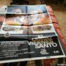 Cine: CARTEL GRANDE ORIGINAL DE CINE DE LA PELÍCULA EL LARGO VIERNES SANTO. Lote 89365175