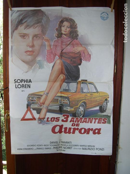 LOS TRES AMANTES DE AURORA SOFIA LOREN (Cine - Posters y Carteles - Comedia)