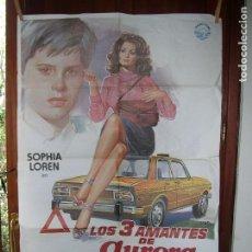 Cine: LOS TRES AMANTES DE AURORA SOFIA LOREN. Lote 89432832