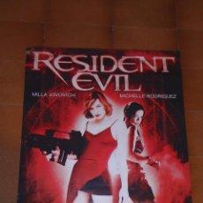 Cine: RESIDENT EVIL, 2002, CONSTANTIN FILMS / SCREEN GEMS POSTER ORIGINAL FATIGADO. Lote 89601808