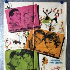 Cine: DIAS DE FERIA - TONY LEBLANC, JOSE ISBERT, LOPEZ VAZQUEZ, ENRIQUE AVILA - AÑO 1960. Lote 89663020