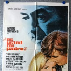 Cine: ES USTED MI PADRE? - MARK STEVENS, TONY ISBERT, MARIBEL MARTIN, MARY CARRILLO - AÑO 1970. Lote 89663132