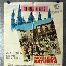 Cine: NOBLEZA BATURRA - VICENTE PARRA, IRAN EROY, JOSE MORENO - AÑO 1965. Lote 89672568