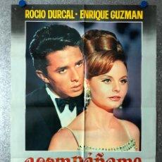 Cine: ACOMPAÑAME - ROCIO DURCAL, ENRIQUE GUZMAN - AÑO 1966. Lote 89676880