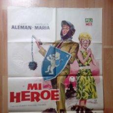 Cine: B-POSTER DE LA PELICULA--MI HEROE. Lote 90133964
