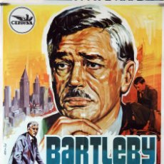 Cine: BERTLEBY. ANTHONNY FRIEDMANN. CARTEL ORIGINAL 1971 70X100. . Lote 90805105
