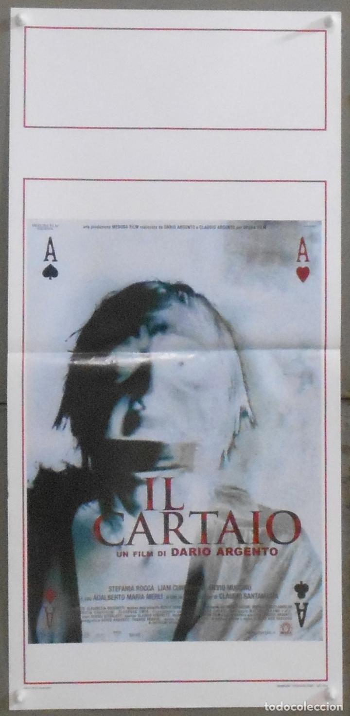 QS20 IL CARTAIO DARIO ARGENTO TERROR POSTER ORIGINAL 33X70 ITALIANO (Cine - Posters y Carteles - Terror)