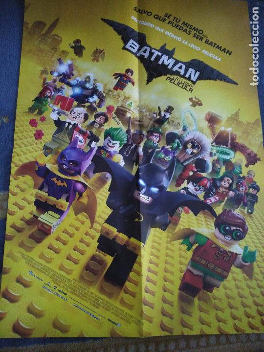 POSTER O CARTEL DOBLE #077 BATMAN: LA LEGO PELÍCULA Y TABOO (Cine - Posters y Carteles - Infantil)
