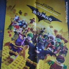 Cine: POSTER O CARTEL DOBLE BATMAN: LA LEGO PELÍCULA Y TABOO #77. Lote 91390590