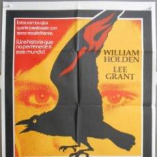 Cine: XW75 LA MALDICION DE DAMIEN PROFECIA 2 WILLIAM HOLDEN POSTER ORIGINAL ESTRENO 70X100. Lote 91461275