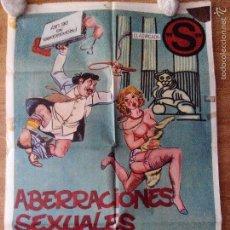 Cine: ABERRACIONES SEXUALES DE UN DIPUTADO - APROX 70X100 CARTEL ORIGINAL CINE (L30). Lote 191220165