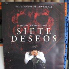 Cine: SIETE DESEOS. Lote 221608197