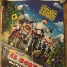 Cine: EL CORRAL, UNA FIESTA MUY BESTIA - APROX 70X100 CARTEL ORIGINAL CINE (L43). Lote 92059165