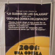 Cine: CARTEL CINE ORIG 2001 UNA ODISEA DEL ESPACIO 70X100 / STANLEY KUBRICK. Lote 92332555