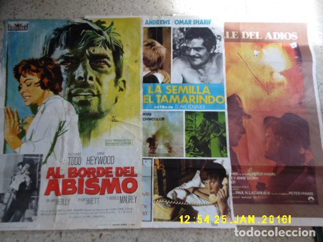 TRES CARTELES DDECINE, AÑO 1964 Y 1974, OTRO SIN AÑO. (Cine - Posters y Carteles - Aventura)