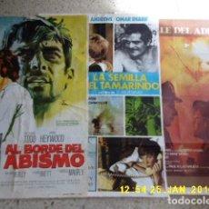 Cine: TRES CARTELES DDECINE, AÑO 1964 Y 1974, OTRO SIN AÑO.. Lote 92372805