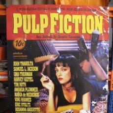 Cine: PULP FICTION POSTER ORIGINAL REESTRENO 2017. Lote 210677966