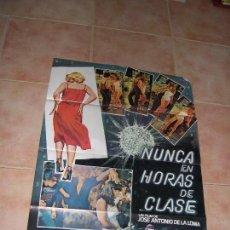 Cine: NUNCA EN HORAS DE CLASE. Lote 92911605