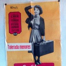 Cine: LILI 1966, LESLIE CARROL MEL FERRER, CARTEL ORIGINAL 70X100 ESTRENO DE CINE GRAN VÍA. Lote 93594475