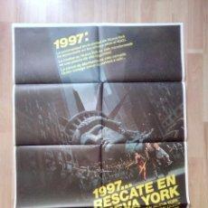 Cine: B--POSTER DE LA PELICULA--1997 RESCATE EN NUEVA YORK. Lote 96027526