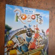 Cine: ROBOTS, VOCES DE ELSA PATAKI, FLORENTINO FERNANDEZ, ALEJO SAURAS. Lote 94296866