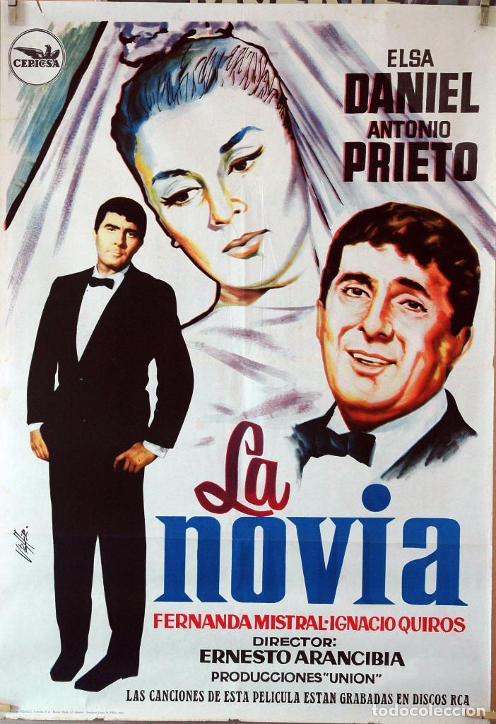 LA NOVIA. ELSA DANIEL-ANTONIO PRIETO. CARTEL ORIGINAL 1962. 70X100 (Cine - Posters y Carteles - Clasico Español)