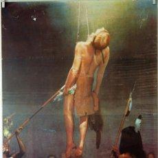Cine: UN HOMBRE LLAMADO CABALLO. RICHARD HARRIS. CARTEL ORIGINAL 1970. 70X100. Lote 94465822