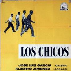 Cine: LOS CHICOS. MARCO FERRERI. CARTEL ORIGINAL 1959. 70X100. Lote 94521870