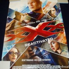 Cinema: TRIPLE X. REACTIVATED. POSTER O CARTEL DE CINE. ORIGINAL. MUY BUEN ESTADO.. Lote 94687871