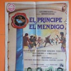 Cine: CARTEL, POSTER CINE - EL PRINCIPE Y EL MENDIGO - AÑO 1977 -VER 6 FOTOS Y DESCRIPCIÓN ... R-6891. Lote 94856655