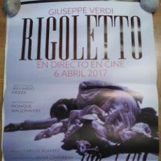 Cine: OPERA: RIGOLETTO - APROX 70X100 CARTEL ORIGINAL CINE (L44). Lote 94945039
