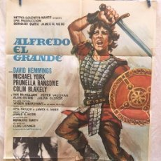 Cinéma: CARTEL DE CINE DEL ESTRENO DE LA PELÍCULA ALFREDO EL GRANDE (1969). Lote 95016995