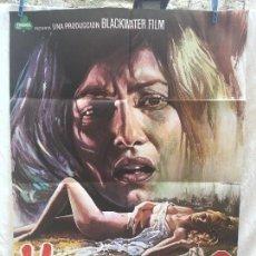 Cine: CARTEL DE CINE DEL ESTRENO DE LA PELÍCULA VIOLACIÓN Y...? (1973). Lote 95019703