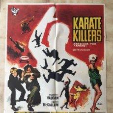 Cine: CARTEL DE CINE DEL ESTRENO DE LA PELÍCULA KARATE KILLERS (1967). Lote 95159099