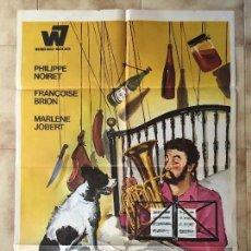 Cine: CARTEL DE CINE DEL ESTRENO DE LA PELÍCULA EL ARTE DE VIVIR... PERO BIEN (1968). Lote 95168823