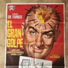 Cine: CARTEL DE CINE DEL ESTRENO DE LA PELÍCULA EL GRAN GOLPE (1964). Lote 95184787