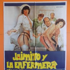 Cine: CARTEL POSTER DE CINE - JAIMITO Y LA ENERMERA ARMAN LA GUERRA EN EL HOSPITAL 1982 -ORIGINAL.. R-6969. Lote 129961930