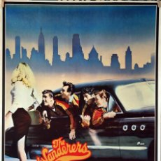 Cine: THE WANDERERS. PHILIP KAUFMAN. CARTEL ORIGINAL 1979. 70X100. Lote 95368223