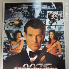Cinema: 007 EL MAÑANA NUNCA MUERE JAMES BOND - POSTER CARTEL ORIGINAL PIERCE BROSNAN SIN DOBLAR !. Lote 181775700
