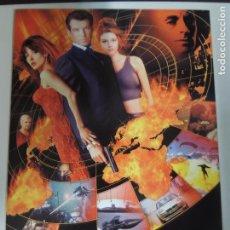 Cinema: 007 EL MUNDO NUNCA ES SUFICIENTE JAMES BOND - POSTER CARTEL ORIGINAL PIERCE BROSNAN SIN DOBLAR !. Lote 181775758