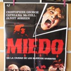 Cinéma: L202 MIEDO EN LA CIUDAD DE LOS MUERTOS VIVIENTES. Lote 95631807