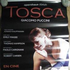 Cine: OPERA: TOSCA - APROX 70X100 CARTEL ORIGINAL CINE (L46). Lote 95638127